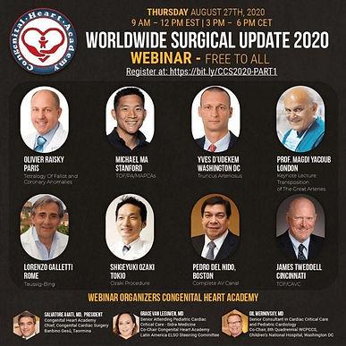 Worldwide Surgical Update 2020