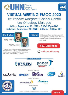 12th Princess Margaret Cancer Centre (PMCC) Uro-Oncology Dialogue | VIRTUAL
