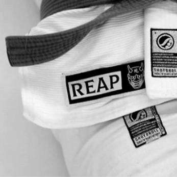 Reap Bjj gi jiu-jitsu patch