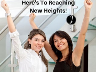 Here's To Reaching New Heights