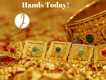 You Have Gold in Your Hands Today