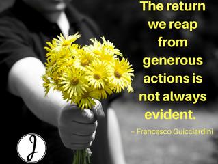 Generous Actions