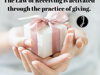 To the Givingness in You