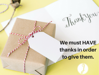 Give a Happy Thanks-Having This Year