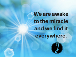 We are Awake to the Miracle