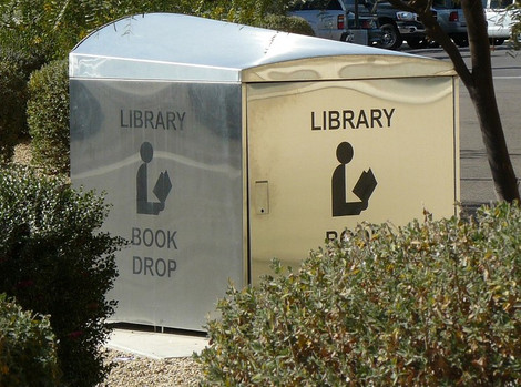 Library Book Drops Have Reopened