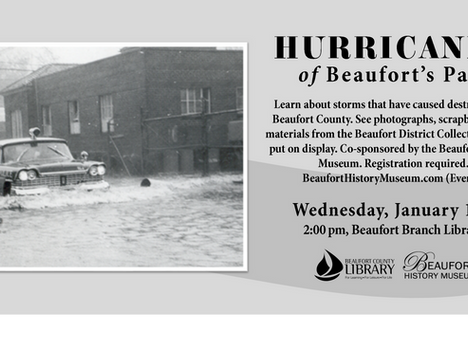 Learn about the Hurricanes of Beaufort's Past
