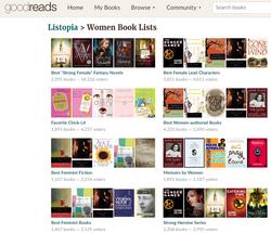 GoodReads: Women Book Lists