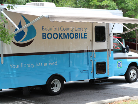 Bookmobile Ribbon-Cutting