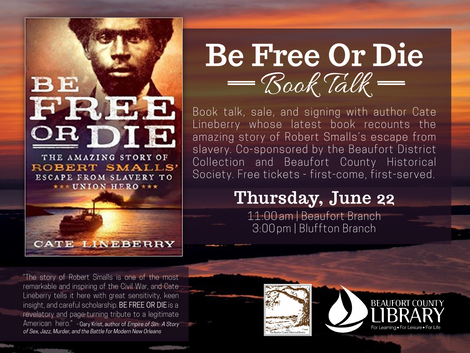 """Be Free Or Die"" Book Talk and ""SC's Liberty Trail"""