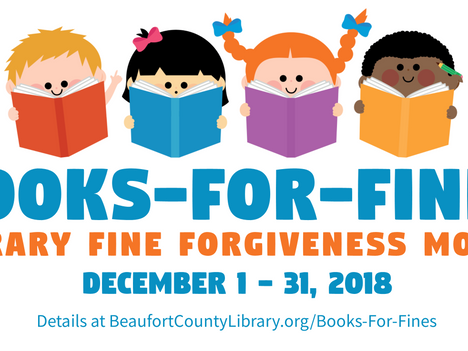 Library Fine Forgiveness Month Announced