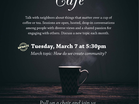 Conversation Café, Fort Fremont Tours, End of Life Issues, More at St. Helena Branch Library