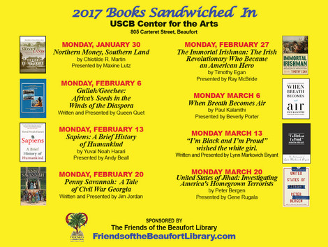 Books Sandwiched In begins January 30!