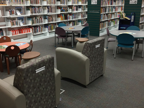 Beaufort Branch Library has reopened!