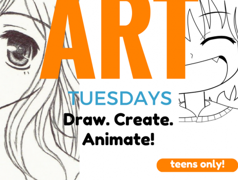 The Amazing Race, Off-line Gaming, Art Tuesdays for Teens at Bluffton Branch Library