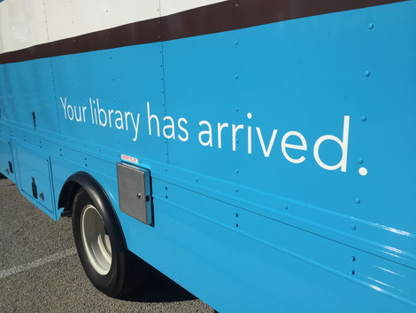 The Bookmobile has arrived!