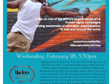 """Lobeco Film Screening: """"Changing the World, One Wall at a Time"""""""