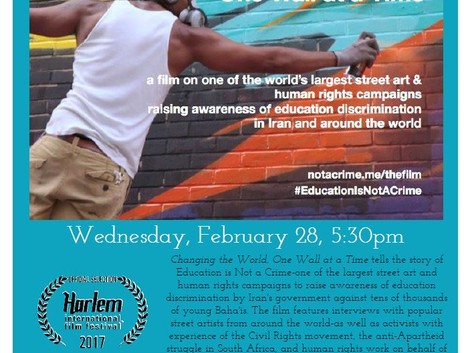 "Lobeco Film Screening: ""Changing the World, One Wall at a Time"""