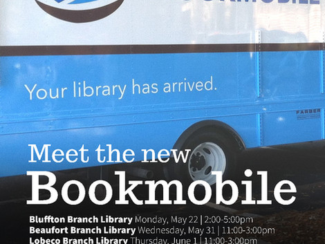 Library Bookmobile Ribbon Cutting and Launch