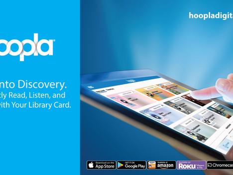 Increase in Hoopla Borrows