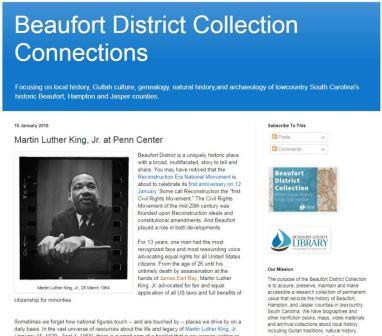 Library Blog - MLK @ Penn Center