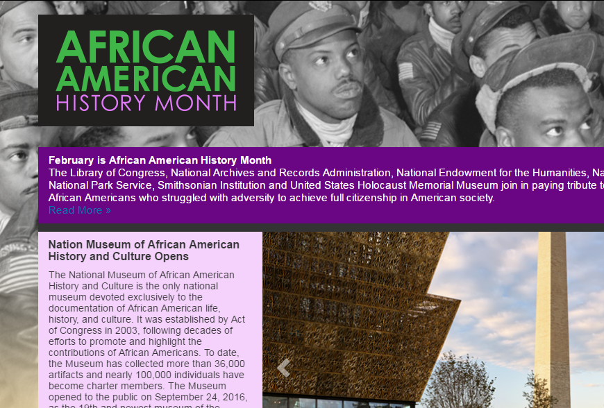 AfricanAmericanHistoryMonth.gov