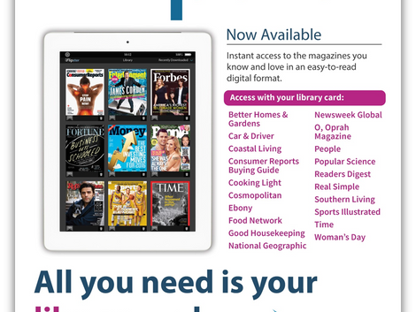 Digital Magazines Now Available!