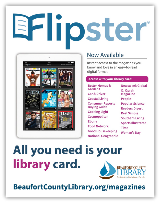 Digital Magazines Now Available! | Beaufort County Library