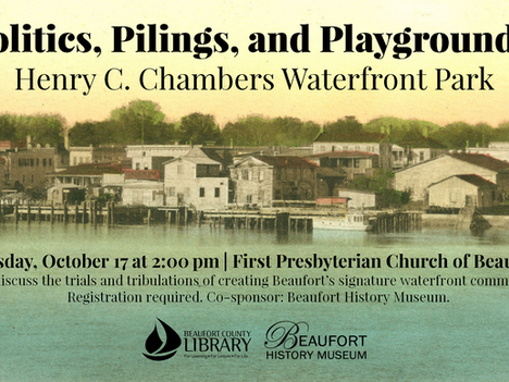 """""""What the Heck Is It?,"""" Waterfront Park Panel Discussion, Archaeology Month, More Events at Library"""