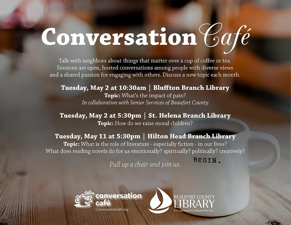 Conversation Cafe flyer