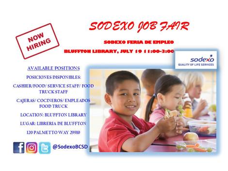 Sodexo Job Fair at Bluffton Library