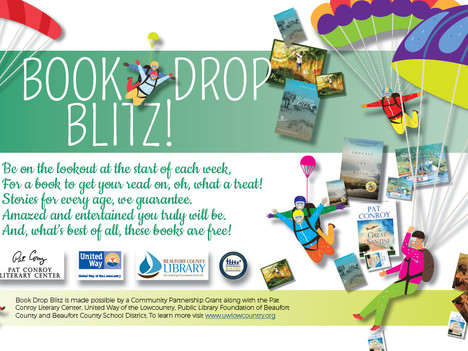 Book Drop Blitz encourages summer reading for lowcountry children