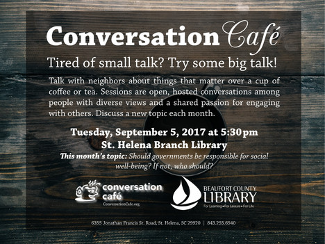 If You Give a Kid a Pancake Program, Conversation Café, Family Law, More Events at St. Helena Branch