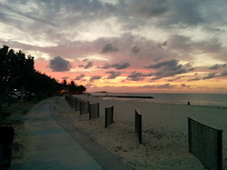 Saunders Beach Sunset