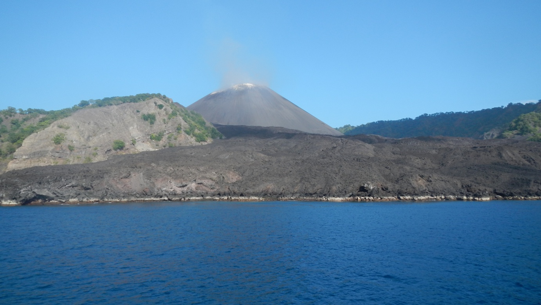 Barren Island volcano Andaman