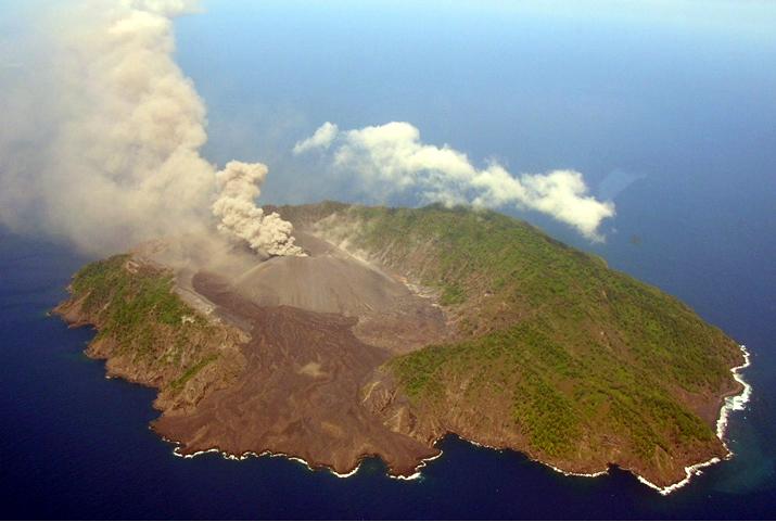 Barren Island volcano Andaman islands