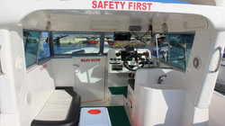 MFV Caiman fishing boat in india Interior