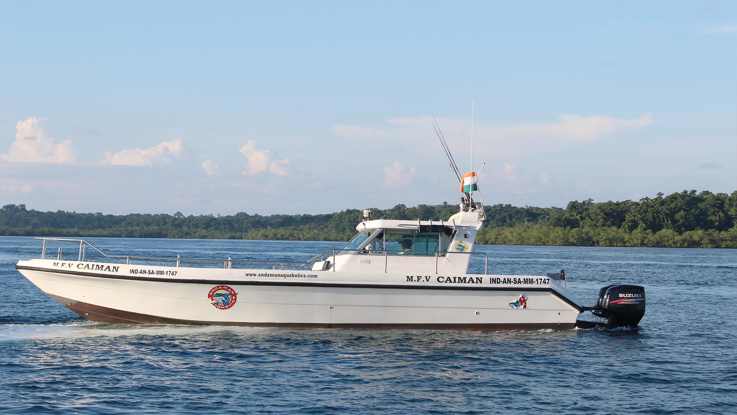 MFV Caiman fishing boat in india