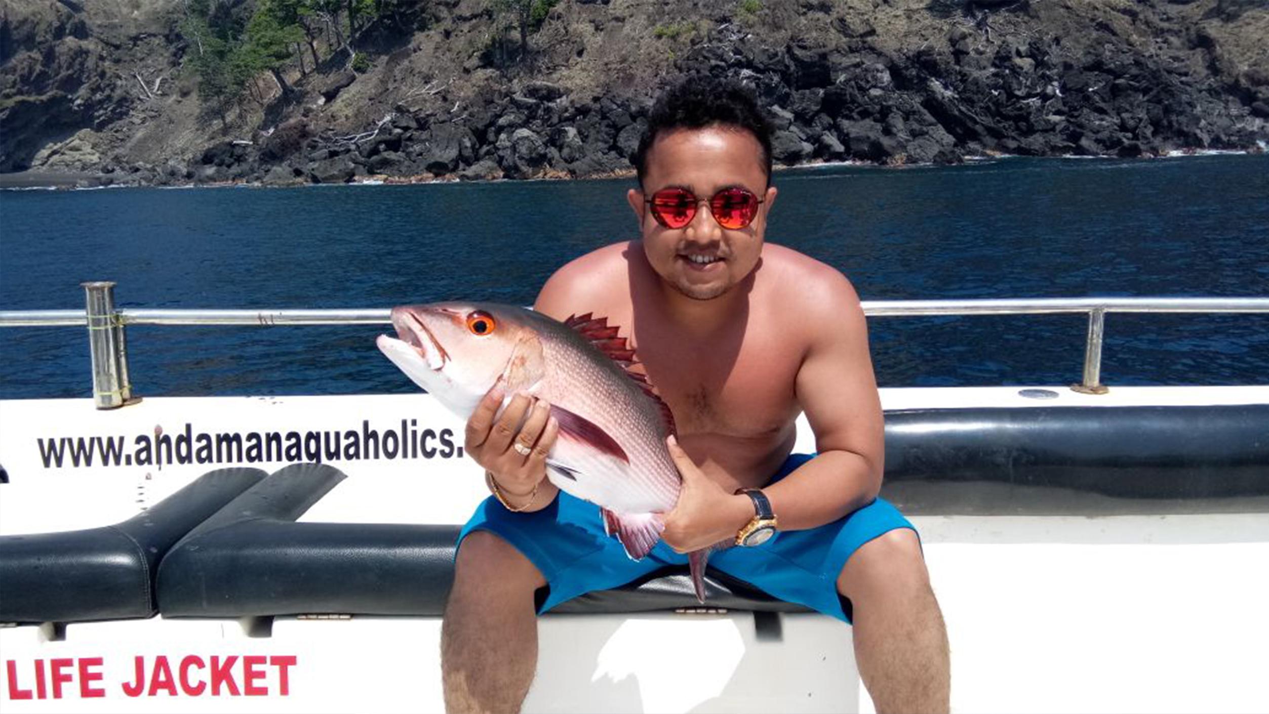 Sports fishing in Andaman 8