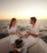 candle light dinner on boat.jpg