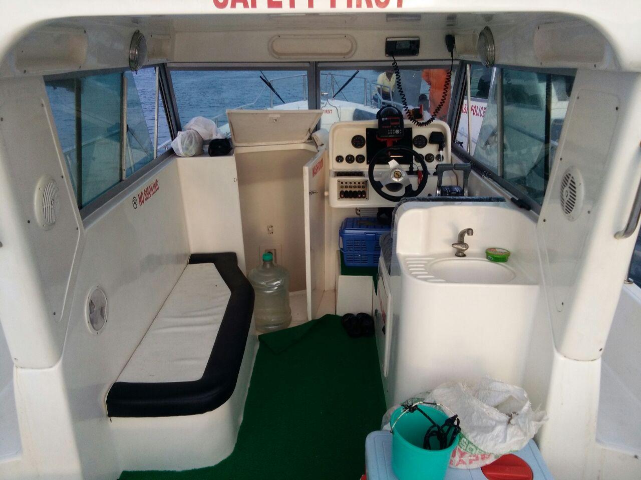 Fishing boat cabin