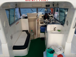 Fishing boat cabin