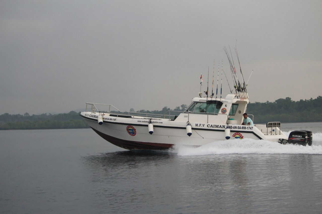 Fishing charters in andaman