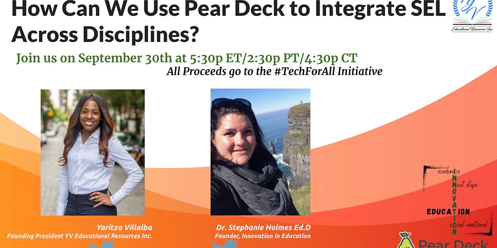 How can we use Pear Deck to integrate SEL across disciplines?