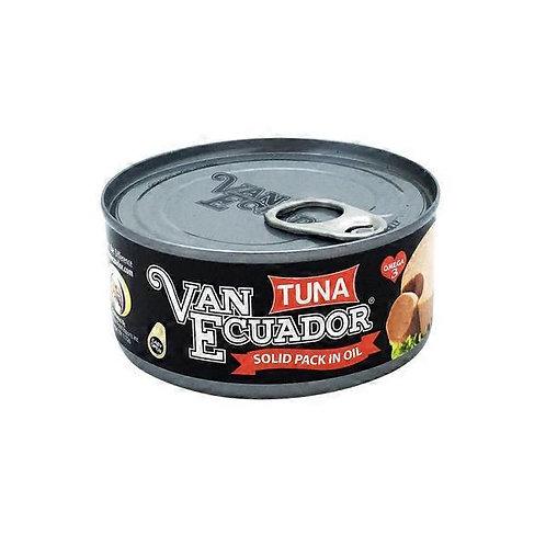 VAN ECUADOR TUNA SOLID 5.3 OZ (108 CASES PER PALLET)