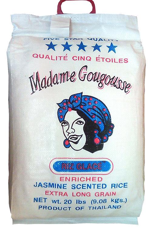 MADAME GOUGOUSSE JASMINE RICE 20 LB (120 CASES PER PALLET)