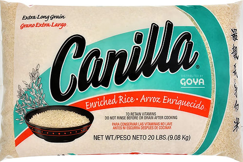 CANILLA RICE WHITE 20LB (36 CASES PER PALLET)