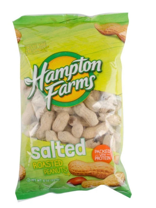 HAMPTON FARMS  SALTED ROASTED 10 OZ