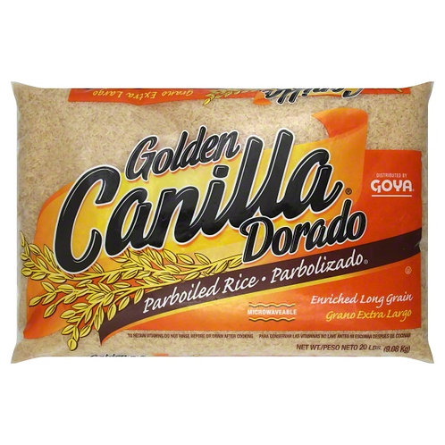 CANILLA PARBOILED RICE 20 LB (35 CASES PER PALLET)