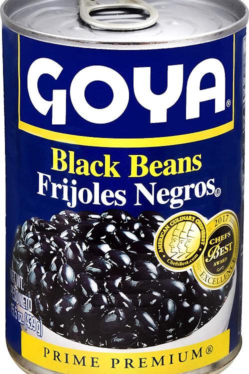 GOYA BLACK BEANS  15.5 OZ (80 CASES PER PALLET)